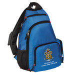 Nat Council - Sea Scouts Logo - Emb - BG112 - Sling Pack