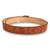 Sea Scouts Leather Belt